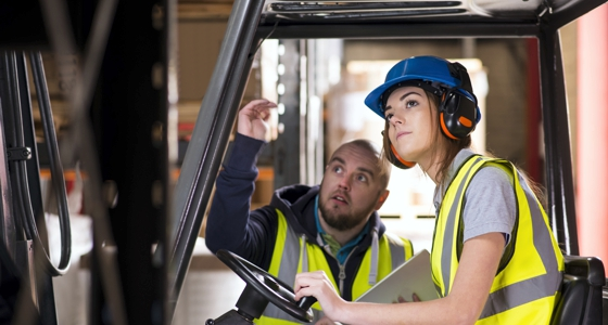 Power Lift Equipment – Steps to Promote Safe Operation
