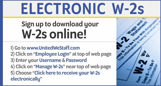 Electronic W-2s
